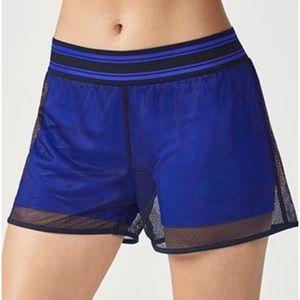 FABLETICS Demi Lovato Mesh 2 in 1 Shorts Medium